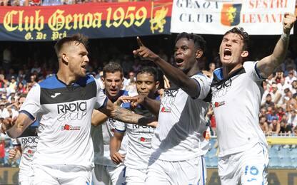 Magia di Zapata, colpo Atalanta. Genoa battuto 2-1