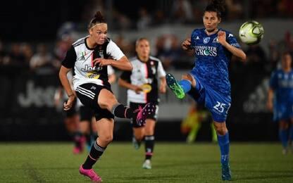 Serie A donne, Juve batte Empoli 2-1 in rimonta