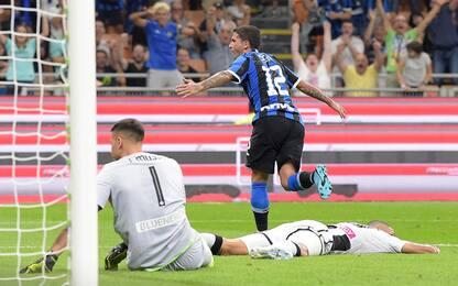 Sensi-gol, l'Inter batte l'Udinese e fa 3 su 3