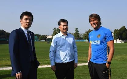 Inter, visita ad Appiano di Jindog Zhang