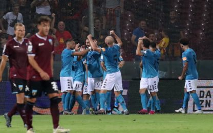 Benevento show: 2-0 alla Salernitana