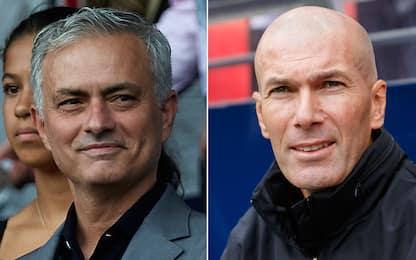 "Mou si nega al Real: ""Non tornerei, ha già Zidane"""