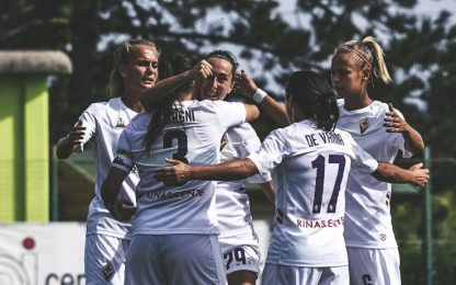 Serie A donne, Fiorentina-Roma alle 12.30 su Sky