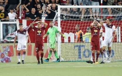 Trapani-Salernitana 0-1: decide Kiyine su rigore
