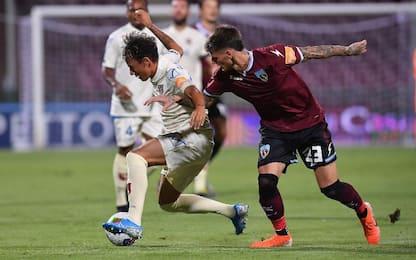 Gol e rossi, pari 1-1 tra Salernitana e Chievo
