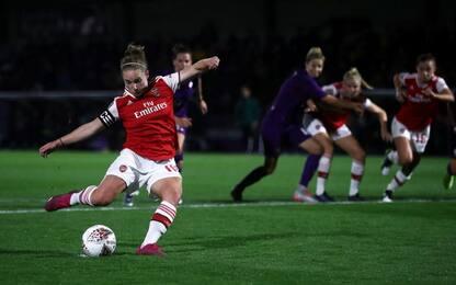 Champions donne, l'Arsenal elimina la Fiorentina