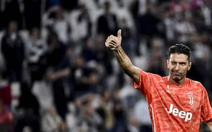 903 presenze coi club, Buffon supera Maldini