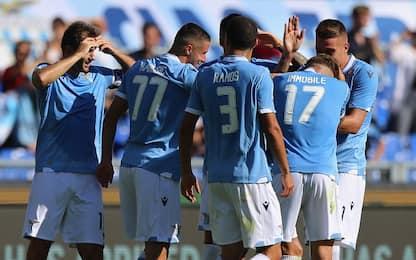 Tutto facile per la Lazio, show e poker sul Genoa