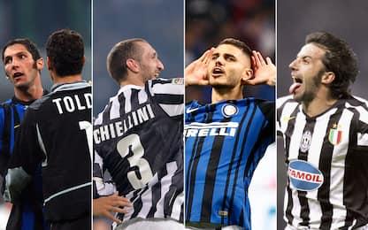 Tutti pazzi per Inter-Juve: le esultanze più belle