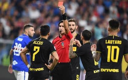 Serie A: un turno di squalifica per Sanchez