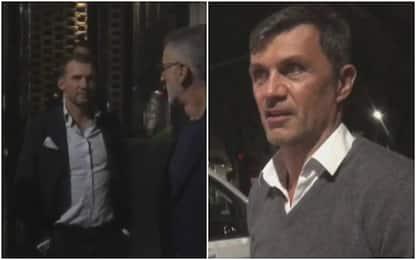 Milan, Maldini e Boban a cena con Shevchenko