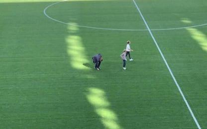 """Marchisio si porta via un """"pezzo"""" di Stadium"""