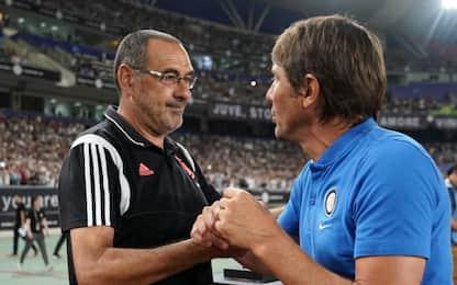 Conte vs Sarri: lo scontro che deciderà Inter-Juve