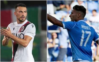 Probabili formazioni di Bologna-Lazio