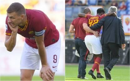 La Roma perde anche Dzeko e Diawara: out 1 mese