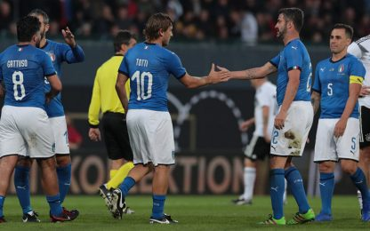 Azzurri Legends, show a Fürth: 3-3 con la Germania