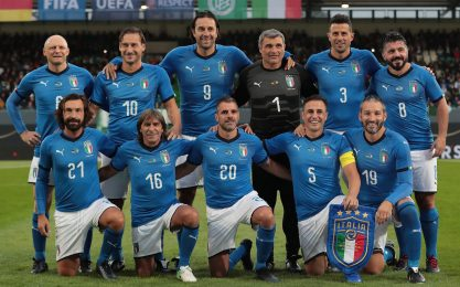 Amarcord Italia, quante leggende in Germania. FOTO