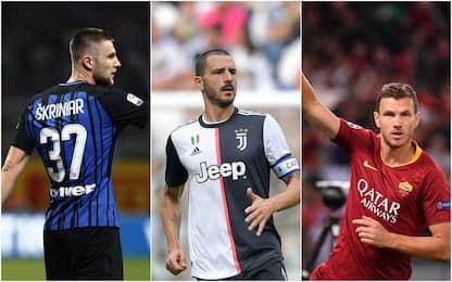 Serie A, i sempre presenti delle prime 7 giornate