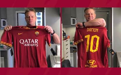 Matt Damon compie 49 anni: gli auguri della Roma