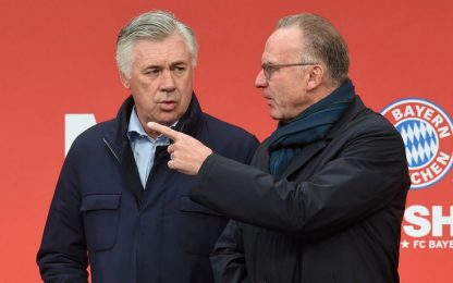 "Rummenigge: ""Quando esonerai Ancelotti piansi"""