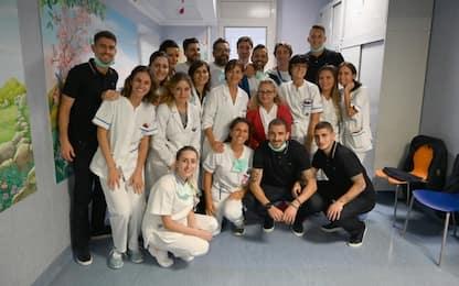 L'Italia in visita all'ospedale Bambino Gesù