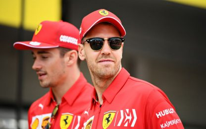 Leclerc-Vettel, a Suzuka per voltare pagina
