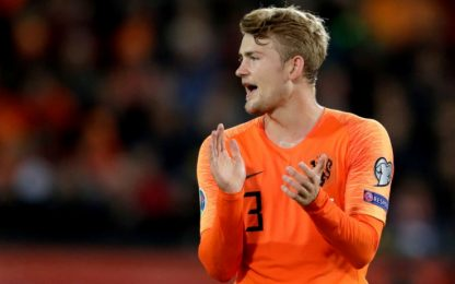 De Ligt, record con l'Olanda: superato Seedorf
