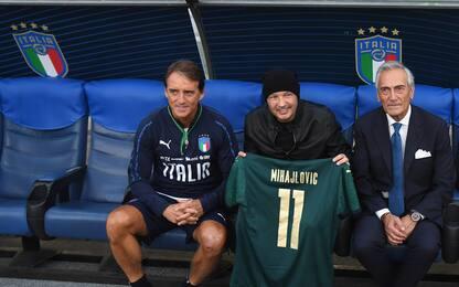 Sorpresa Mihajlovic: visita all'Italia di Mancini