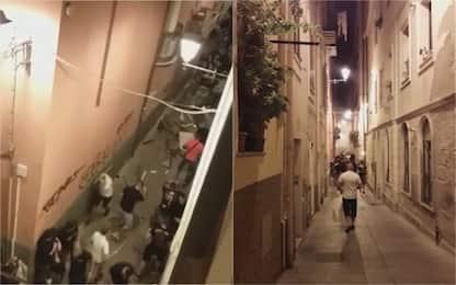Scontri dopo Cagliari-Pogon: 6 arresti. VIDEO