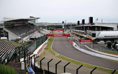 Suzuka, la griglia di partenza del GP Giappone
