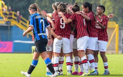 Conc-Rinaldi, è 3-1 Milan nel derby femminile