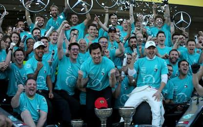 Ancora Mercedes: festa per il titolo Costruttori