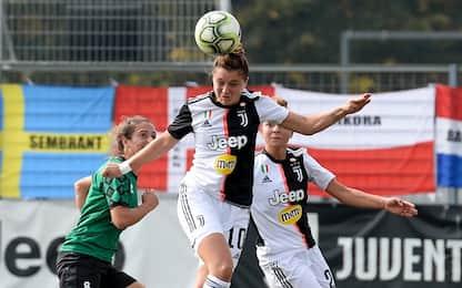Juve, terzo successo di fila: Florentia ko 3-1