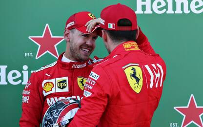 Suzuka, pazzesca Ferrari: pole Vettel, Leclerc 2°