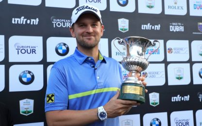 A Wiesberger l'Open d'Italia: 2 azzurri in top 10