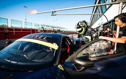 Vale torna su una Ferrari, test verso Abu Dhabi