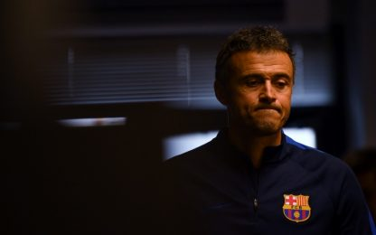 Barcellona, Luis Enrique annuncia l'addio