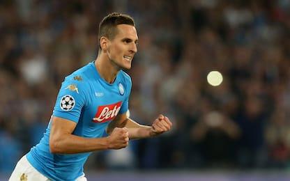 """Napoli, Milik: """"In Champions ce la giochiamo"""""""
