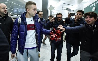 Calciomercato, Milan: Deulofeu arrivato in Italia