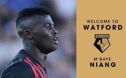 Calciomercato, Niang-Watford: ora è ufficiale