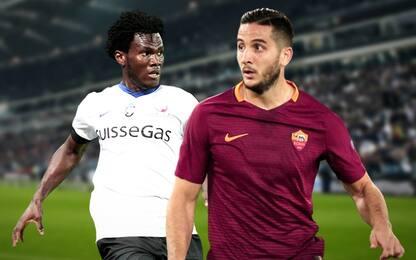 Calciomercato, Roma-Kessié a giugno. Inter-Manolas