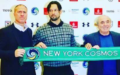 Amauri ai New York Cosmos, è ufficiale