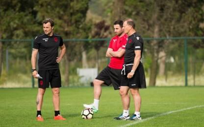 De Biasi: addio Albania dopo la sfida con l'Italia