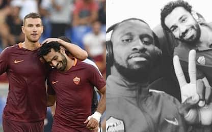 Salah al Liverpool, gli ex compagni lo salutano