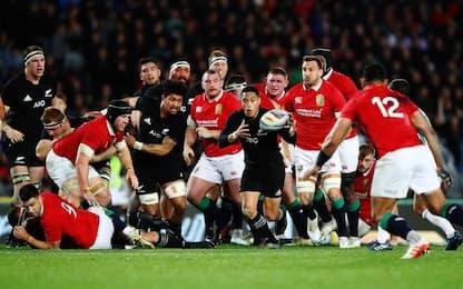 Su Sky il Super Rugby, sabato Lions-All Blacks