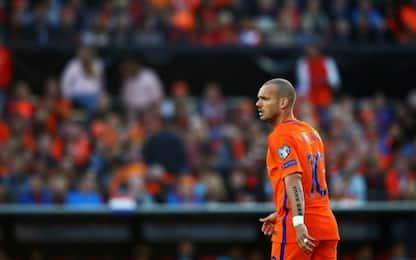 Sneijder va in Qatar: giocherà nell'Al Gharafa
