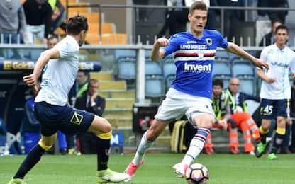 Inter, incontro per Schick: accordo con la Samp