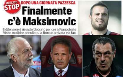 Mercatonovela: Maksimovic e il Napoli (2015)