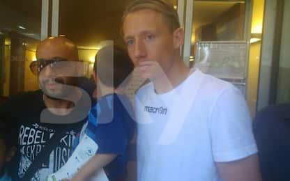 Lazio, finite le visite mediche di Lucas Leiva