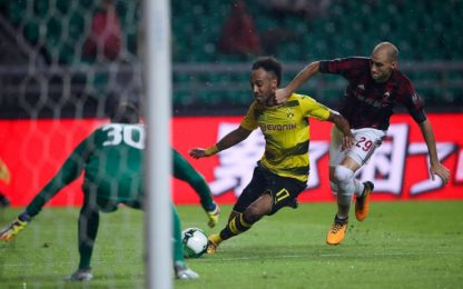 "Aubameyang, polemica BVB: ""Milan poco rispettoso"""